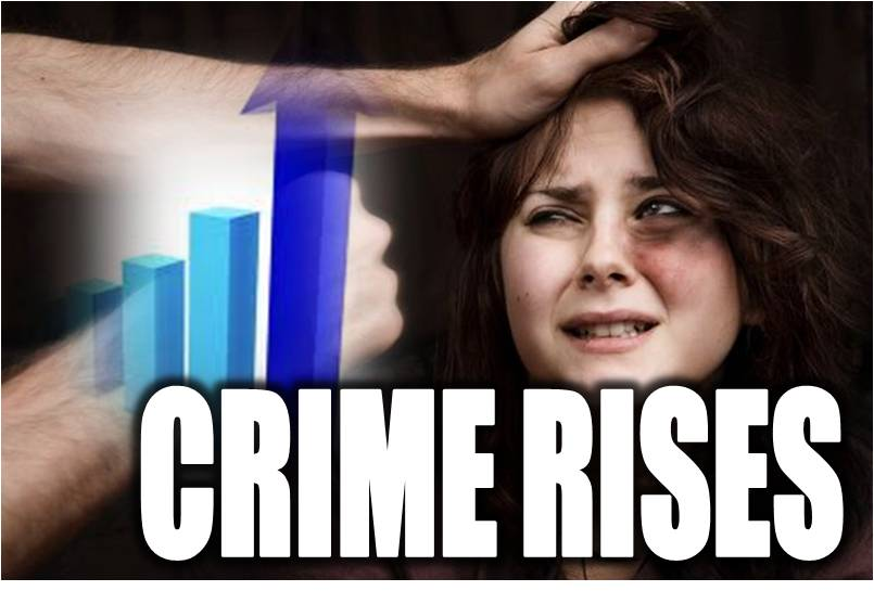 crime increase But recently, their picturesque cityscape has seen an increase in violence, specifically against young girls and women data provided by the government reports an overall increase in sex crimes .