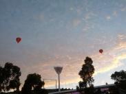 MCG at dawn in January, 2013