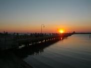 St Kilda Beach - A Sunday sunset in 2012